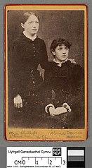 Miss Phillips & Rosina Davies