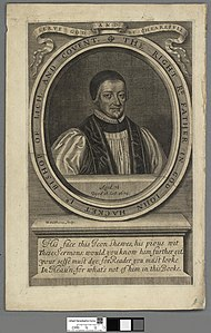 Portrait of The Right Rd. Father in God John Hacket Ld Bishop of Lichfield and Coventry (4670821).jpg