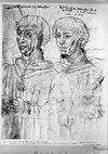 portret van ph. de goede en karel de stoute - middelburg - 20154851 - rce