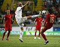Portugal 2-3 Denmark, Poulsen vs. Danny.jpg