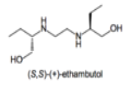 Positive enantiomer of ethambutol.png