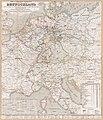 Post- und Eisenbahn-Reisekarte-Deutschland, Holland, die Schweiz, Italien bis Neapel, der grösste Theil von Frankreich, Ungarn, Polen etc. - mit besonderer Rücksicht auf Eisenbahnen u. LOC 2018588027.jpg