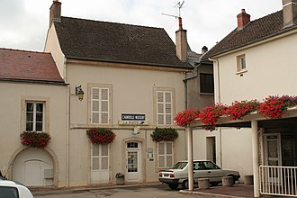 Chambolle-Musigny - Image: Post office in Chambolle Musigny