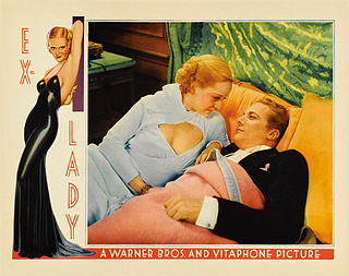 <i>Ex-Lady</i> 1933 film by Robert Florey