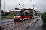 Praha, Hloubětín, Lehovec, tram KT8D5.JPG