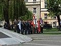 Praha, Klárov, oslavy Dne osvobození II.jpg