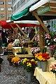 Praha, Smíchov, Anděl, Farmářské trhy, květiny.jpg