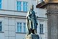 Praha 1, Křižovnické náměstí, Pomník Karla IV. 20170809 001.jpg