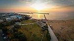 Praia De Shiroko (Suzuka) ao amanhecer 白子日の出 - panoramio (1).jpg