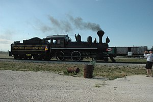 Prairie Dog Central Railway Locomotive -3, built in 1882.jpg