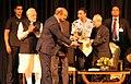 Pranab Mukherjee, the President-elect, Shri Ram Nath Kovind and the Prime Minister, Shri Narendra Modi at the release of the Volume 4 of President Pranab Mukherjee's selected speeches, at Rashtrapati Bhavan, in New Delhi (1).jpg