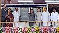Pranab Mukherjee dedicates the 726 MW Palatana Power Plant of ONGC Tripura Power Corporation to the Nation, at Palatana, South Tripura. The Governor, Tripura, Shri Devanand Konwar.jpg