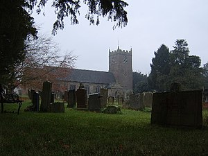 Prees, Shropshire - Image: Prees Church geograph.org.uk 82321