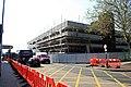Preparations for demolition - geograph.org.uk - 2962275.jpg