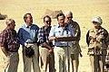 President George H. W. Bush and Mrs. Barbara Bush visit troops from the U.S. Army's 197th Brigade in Saudi Arabia.jpg