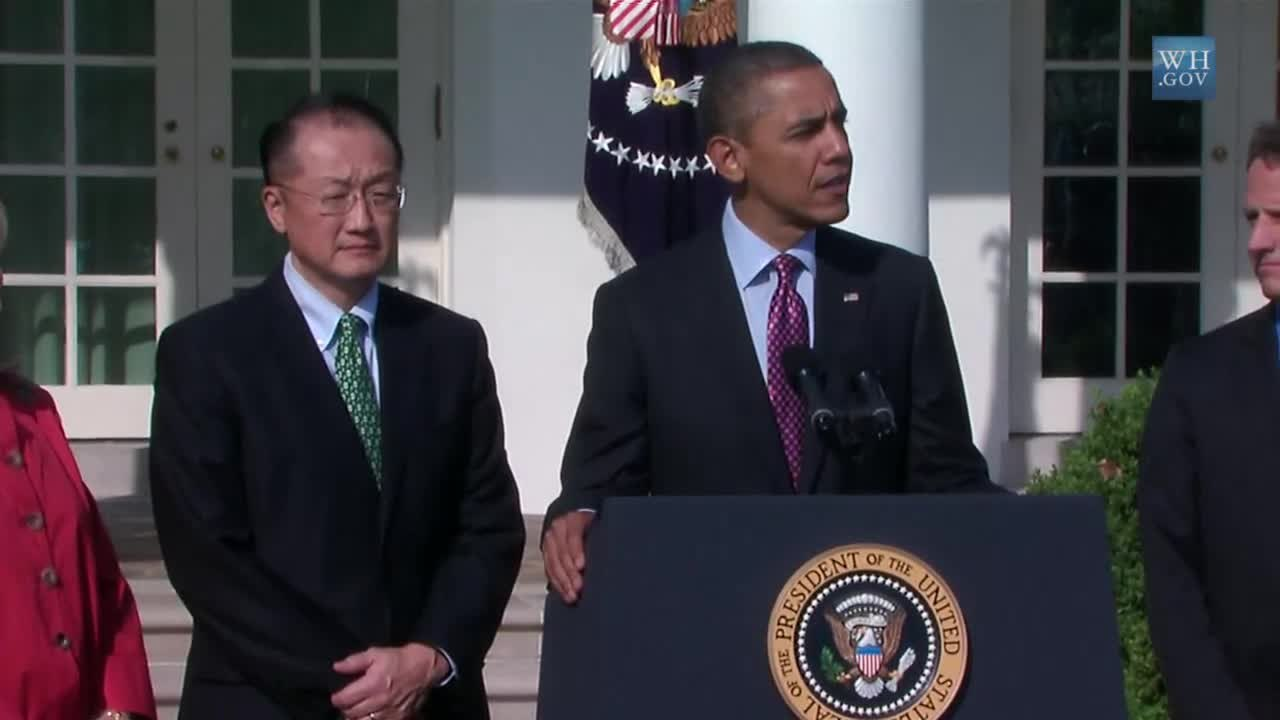 Image result for President Obama Nominates Jim Yong Kim for World Bank President