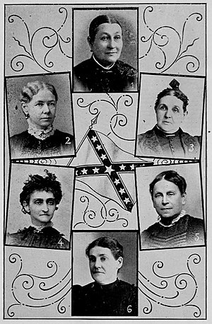 Ladies' Memorial Association - Presidents of local LMAs from Alabama, Georgia, and South Carolina