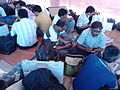 Presiding and Polling Officers Checking Poll Materials - DCRC - Barasat 2016-04-24 02036.jpg