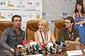 Press-conference of Vladimir Mashkov and Alexei Uchitel - Odessa International Film Festival - 17 July 2010 - 5 - Vladimir Mashkov.jpg