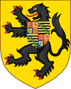 Prince Philippe of Belgium Count of Flanders first arms.PNG