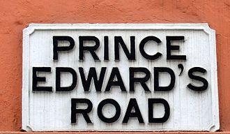 Prince Edward's Road - Image: Prince edwards road