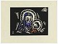 "Print, Madonna s Brozskym Detatkem, Madonna and Child, Plate II, ""Ethiopie, cili Christos, Madonna a Svati, jak jsem ie videl v illuminacich starych ethiopskych kodexu"" Portfolio, 1920 (CH 18684911).jpg"