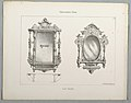 "Print, Monthly Cabinet Makers Album- ""Hat Racks"" (Mirrors), 1859 (CH 18801853).jpg"