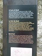 Prisons du fort de Bard - Panneau descriptif 2