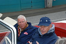 Photo de Bernd Rosemeyer Junior et Hans-Joachim Stuck à l'Ennstal-Classic 2008.