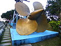 Propeller of ROCN Kwei Yang (DDG-908) in Conscription Park 20140107.jpg