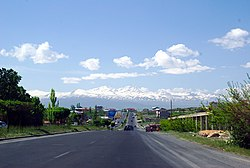 Proshyan and Mount Aragats