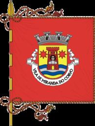 Bandeira de Miranda do Corvo