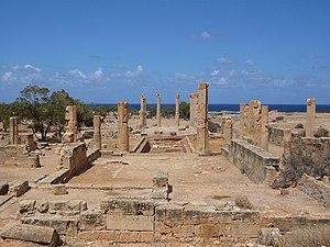 Cyrenaica - Roman ruins of Ptolemais, Cyrenaica