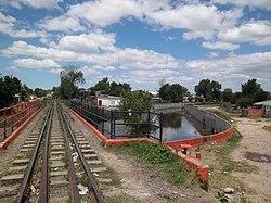 Puente del FCGB y arroyo del Rey.JPG