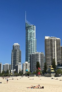 Q1 (building) skyscraper in Australia