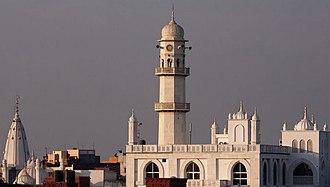Qadian - Minaratul Masih is one of the major landmarks of Qadian