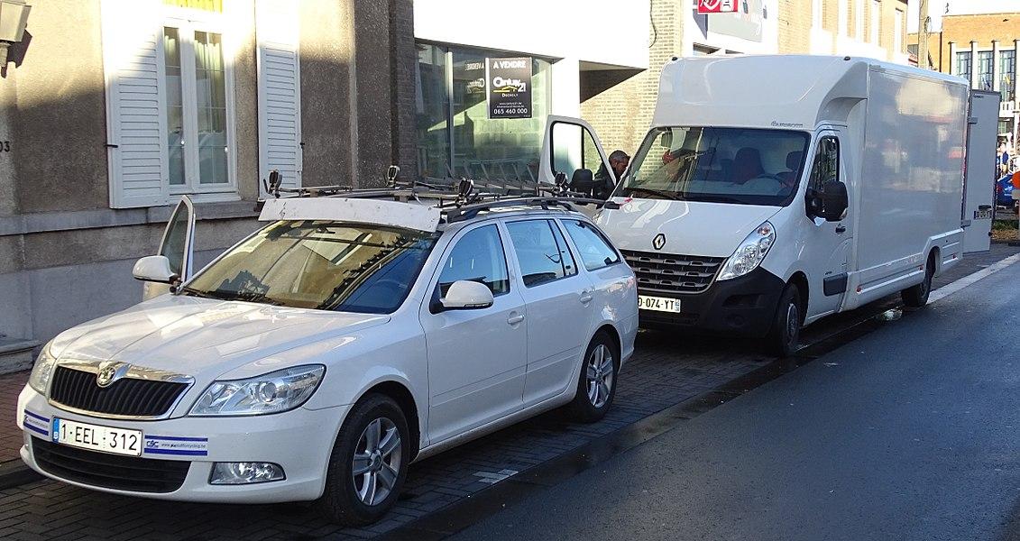 Reportage réalisé le mercredi 2 mars à l'occasion du départ du Samyn des Dames 2016 et du Samyn 2016 à Quaregnon, Belgique.