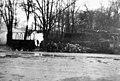Quartermaster wood pile at Base Hospital No.6, Bordeaux, France, 1918 (32250818476).jpg