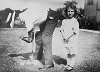 Quentin Durward Corley, Sr. and a little girl circa 1915.jpg
