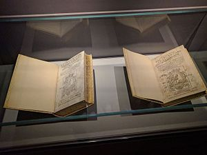 Don Quixote - First editions of the first and second part