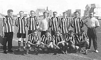 Quilmes de Mar del Plata - A Quilmes squad of 1925, posing in Plaza España venue