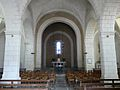 Quinsac (Dordogne) église nef.JPG