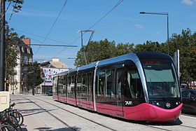 Image illustrative de l'article Tramway de Dijon