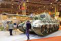 Rétromobile 2015 - Panzer VI Ausf B Tigre II - 1944 - 001.jpg