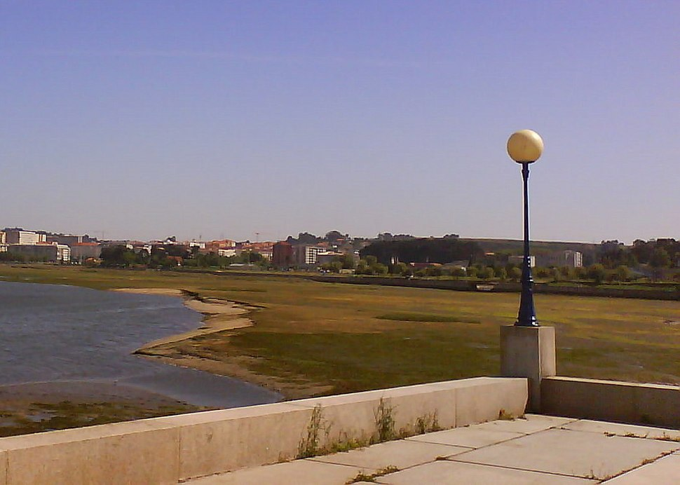 Ría de O Burgo ca marea baixa