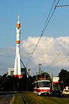 R-7 Rocket at the Samara Space Museum.jpg