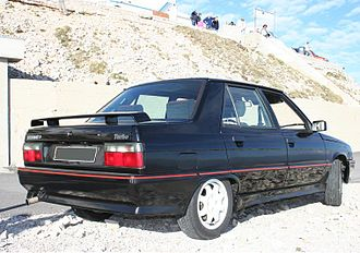 Renault 9 and 11 - Renault 9 phase 3, rear
