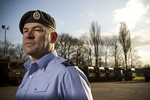 Senior aircraftman - A senior aircraftman reservist.