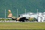 ROCAF C-130H 1309 Landing down Hualien Air Force Base Runway 20170923.jpg