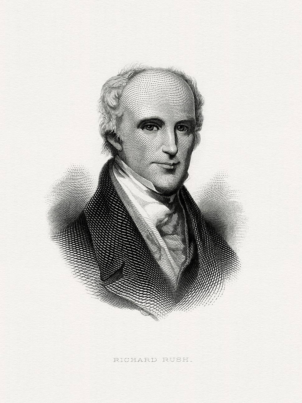 RUSH, Richard-BEP069-Treasury (BEP engraved portrait)